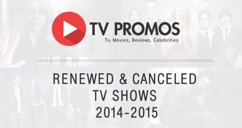 Renewed & Cancelled TV Shows for 2014-2015