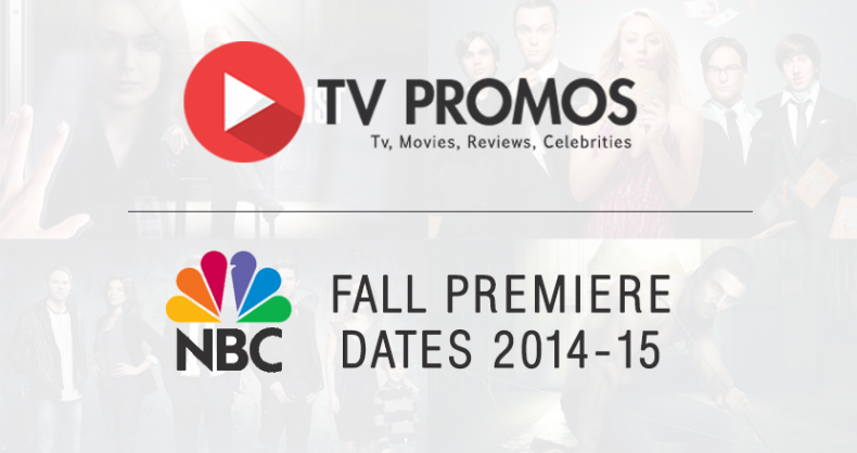 Nbc announces fall premiere dates for new 2015 16 season india daily