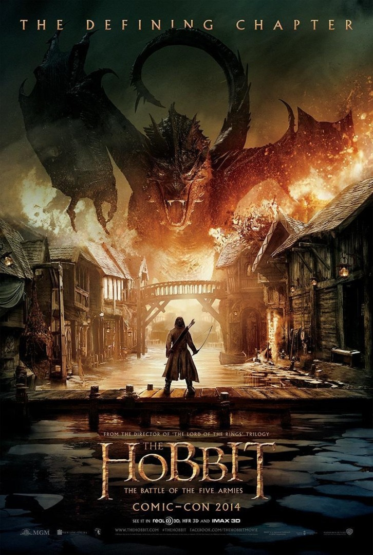 the hobbit 3 the battle of the five armies poster