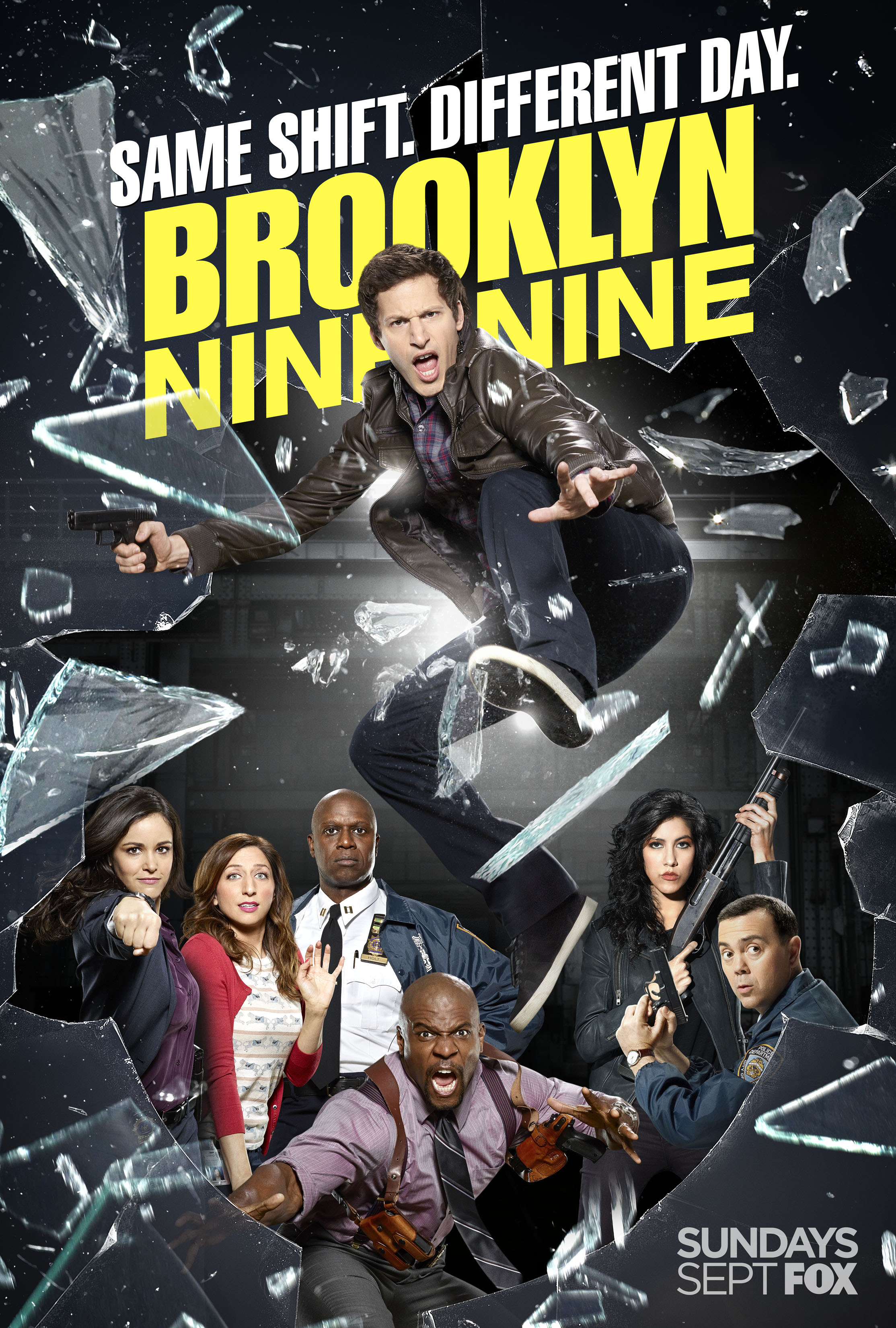 Brooklyn Nine-Nine Season 2 Poster