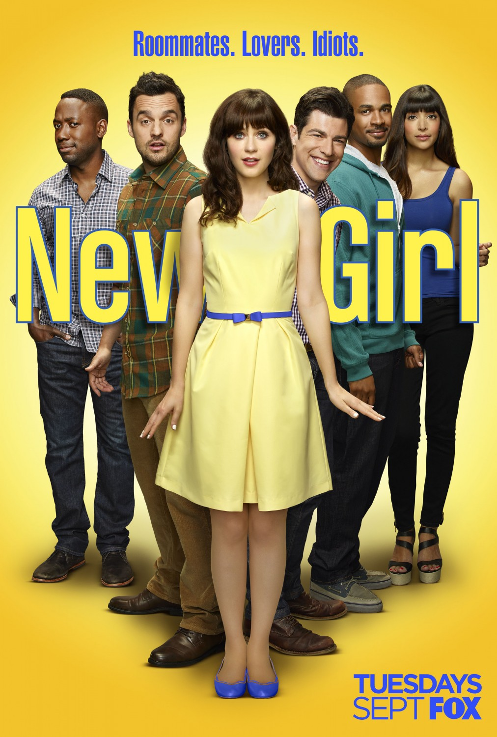 new girl season 4 promotional poster