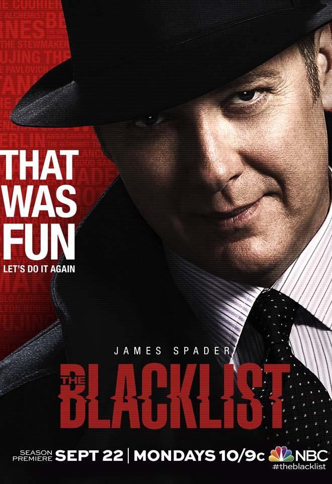 the blacklist season 2 poster