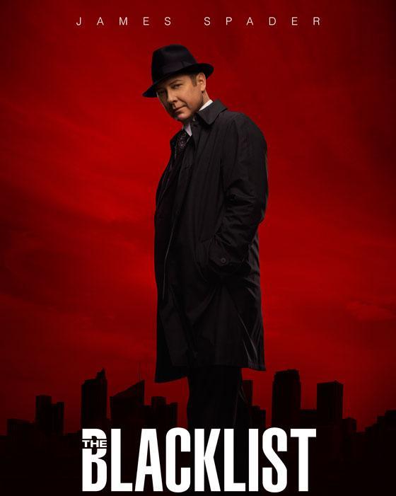 the blacklist season 2 promotional poster spader