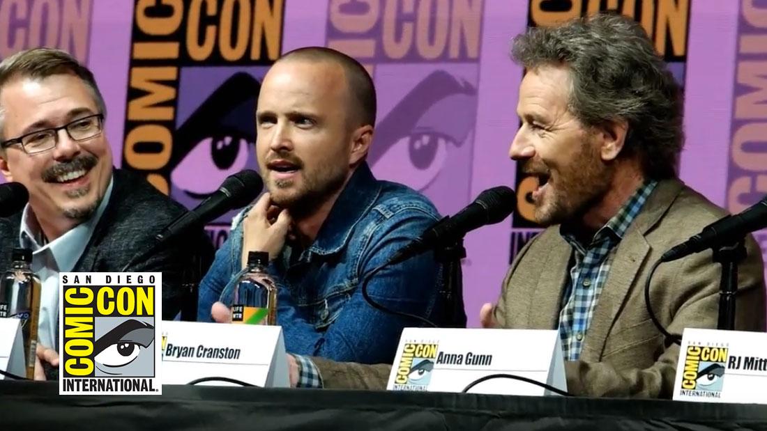 Watch the full Comic-Con 2018 Breaking Bad Panel